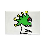 Malinalco - Jester Skull Rectangle Magnet (100 pac