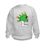 Malinalco - Jester Skull Kids Sweatshirt