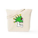 Malinalco - Jester Skull Tote Bag