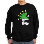 Malinalco - Jester Skull Sweatshirt (dark)