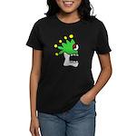 Malinalco - Jester Skull Women's Dark T-Shirt