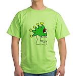 Malinalco - Jester Skull Green T-Shirt