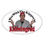 Kipper in Kaliningrad Sticker (Oval 50 pk)