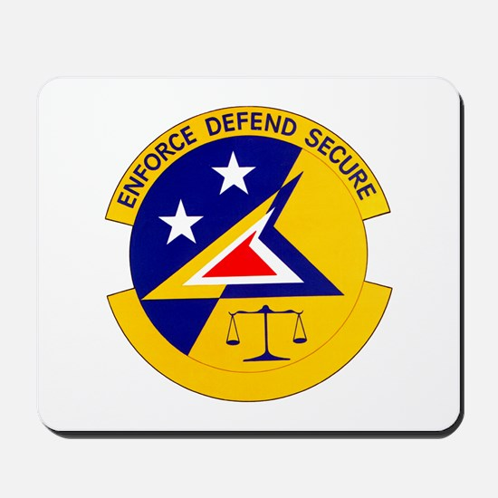 833d Security Police Mousepad