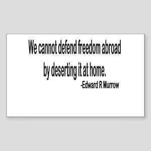 Freedom Rectangle Sticker