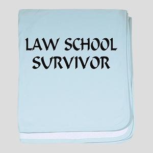 Law School Survivor baby blanket
