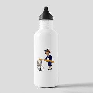 Dental Hygiene Graduation Stainless Water Bottle 1