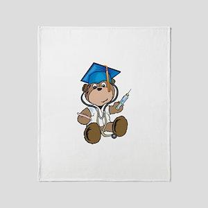 Nurse Graduation Throw Blanket