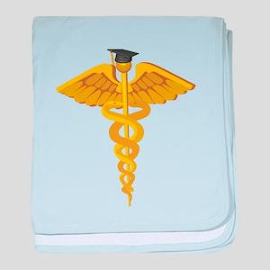 Medical School Graduation baby blanket
