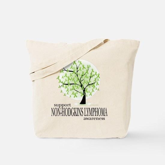 Non-Hodgkins Lymphoma Tree Tote Bag