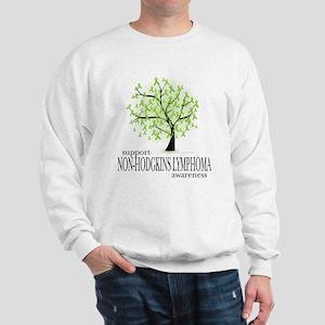 Non-Hodgkins Lymphoma Tree Sweatshirt