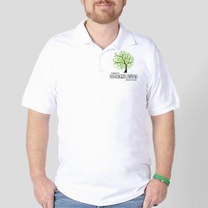 Non-Hodgkins Lymphoma Tree Golf Shirt