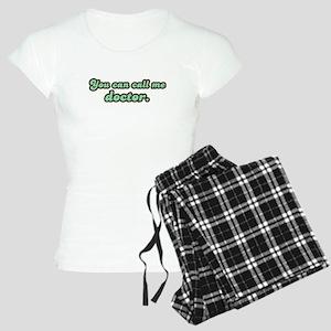 Call Me Doctor Women's Light Pajamas