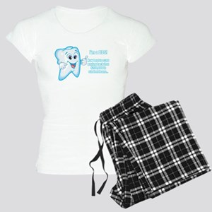 Funny DDS Grad Women's Light Pajamas