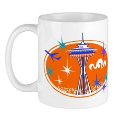 Space Needle Mugs