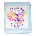 Songxi China baby blanket