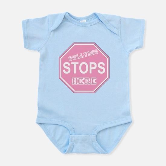 Bullying Stops Here Infant Bodysuit