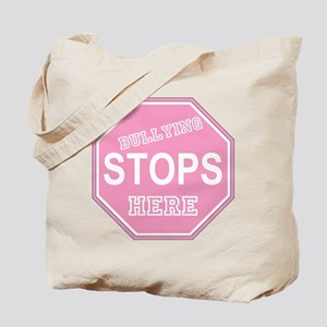 Bullying Stops Here Tote Bag