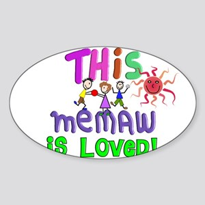 Family Gifts Sticker (Oval)