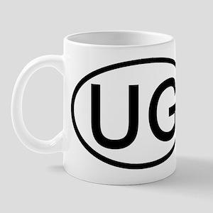 UG - Initial Oval Mug