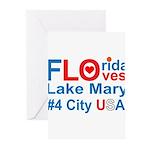 Florida Greeting Cards (Pk of 10)