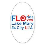 Florida Sticker (Oval 10 pk)