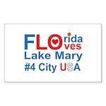 Florida Sticker (Rectangle)