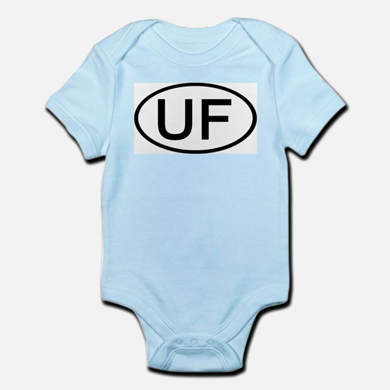 UF - Initial Oval Infant Creeper