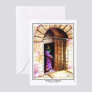 Temple of Dagon Greeting Cards (Pk of 10)
