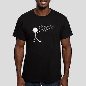 Chemist Men's Fitted T-Shirt (dark)