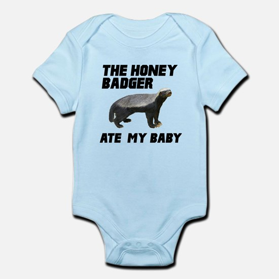 The Honey Badger Ate My Baby Infant Bodysuit
