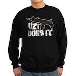 Uzi Does It Sweatshirt (dark)