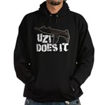 Uzi Does It Hoodie (dark)