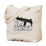 Uzi Does It Tote Bag
