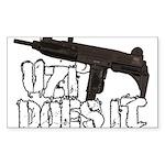 Uzi Does It Sticker (Rectangle 50 pk)