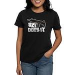 Uzi Does It Women's Dark T-Shirt