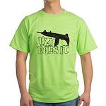 Uzi Does It Green T-Shirt