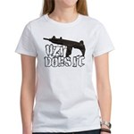 Uzi Does It Women's T-Shirt