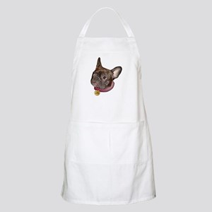 Frenchie Head BBQ Apron