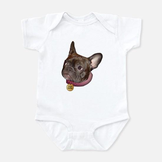 Frenchie Head Infant Creeper