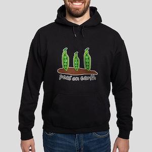 Peas on Earth Hoodie (dark)
