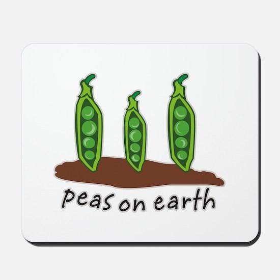 Peas on Earth Mousepad