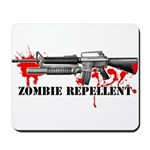 Zombie Repellent Dark Shirts Mousepad