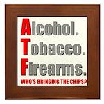 ATF Humor Framed Tile