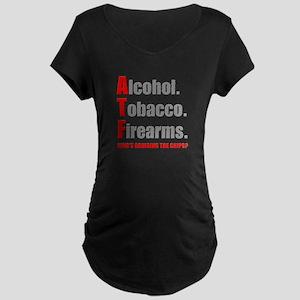 ATF Humor Maternity Dark T-Shirt