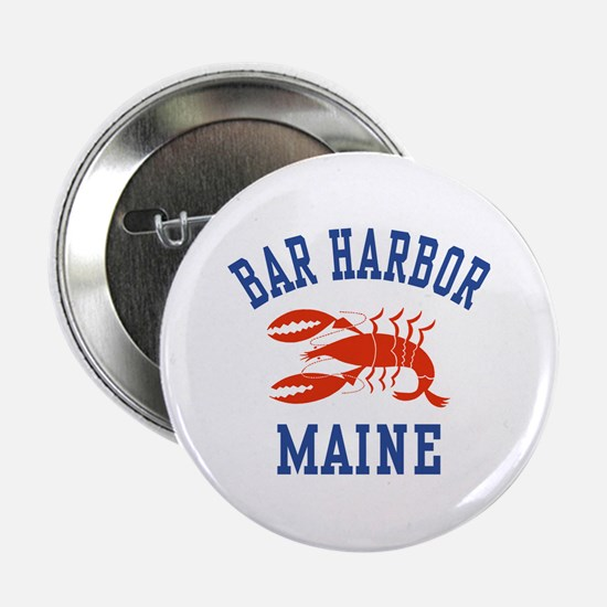 Bar Harbor Maine Button