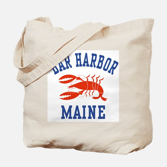 Bar Harbor Maine Tote Bag