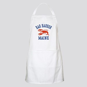 Bar Harbor Maine BBQ Apron