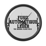 FAL- Fusil Automatique Leger Large Wall Clock