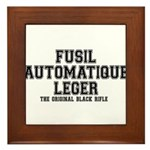 FAL- Fusil Automatique Leger Framed Tile
